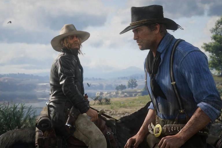 Cena do game Red Dead Redemption II