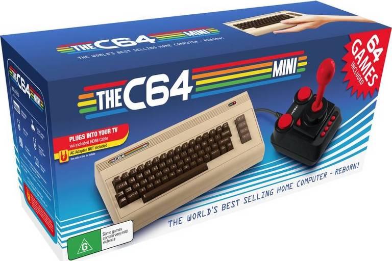 Novo Commodore C64