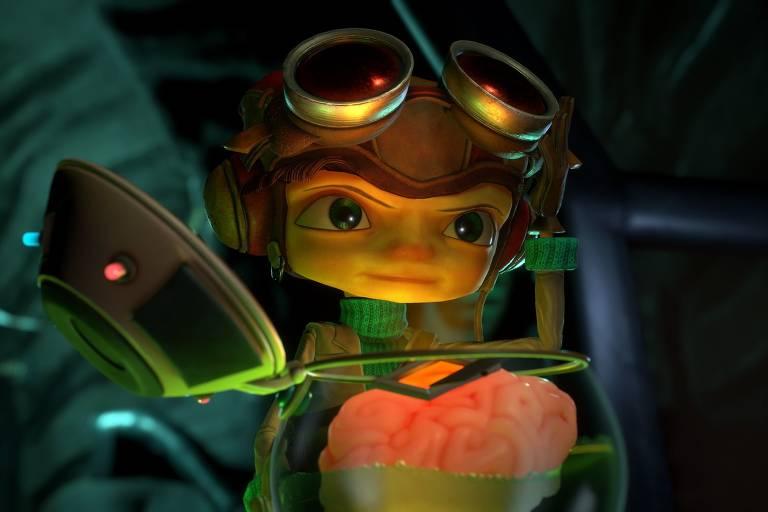 'Psychonauts 2' é uma ode à criatividade e à inteligência nos games