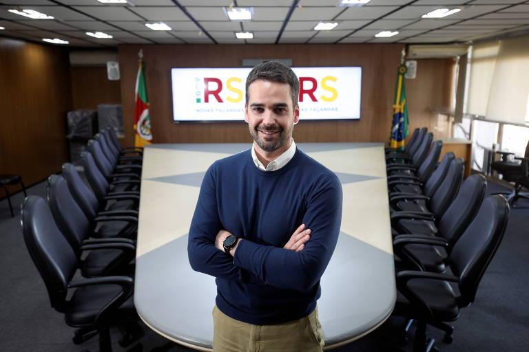 Em SP, Eduardo Leite faz live com empresários e promete fim da polarização