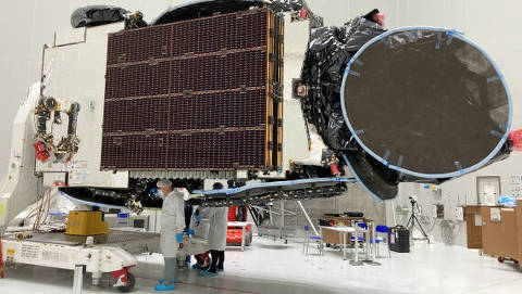 Novos satélites ampliam alcance da TV do futuro