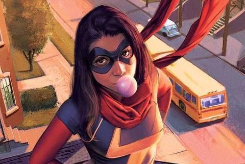 Miss Marvel - Kamala Khan - Web Stories