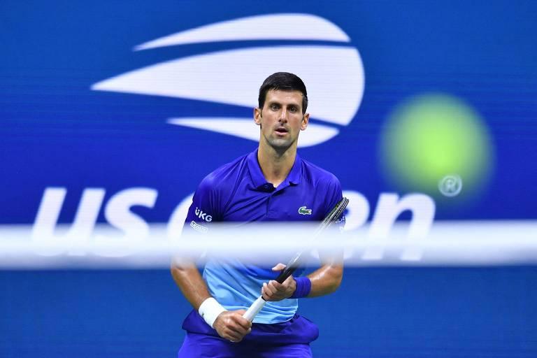 Novak Djokovic se recusou a revelar sua situação de vacinação