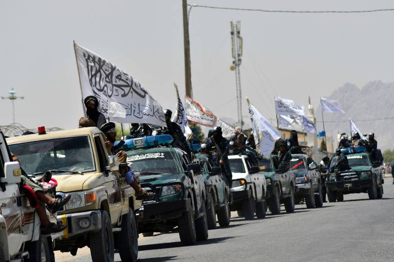 Talibã toma posse de armas ocidentais