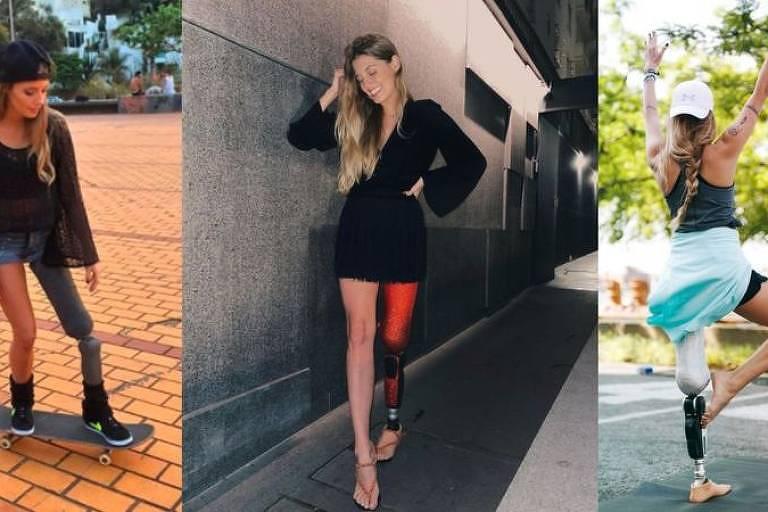 Paola Antonini: 'Não quero minha perna de volta de jeito nenhum'