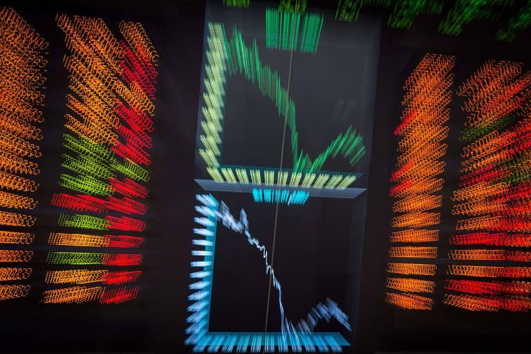 Bolsa fecha em leve alta e dólar fica estável após atingir R$ 5,50