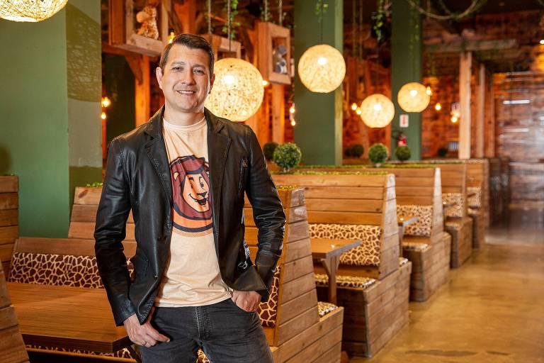 Marcos Gundel, 42, sócio da M&A Franchising, dona da rede de restaurantes temáticos Mundo Animal