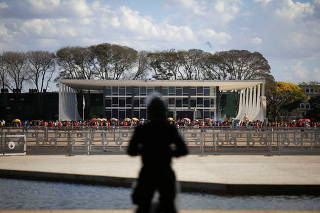 Brazil's Supreme Court trial of a landmark case on indigenous land rights in Brasilia