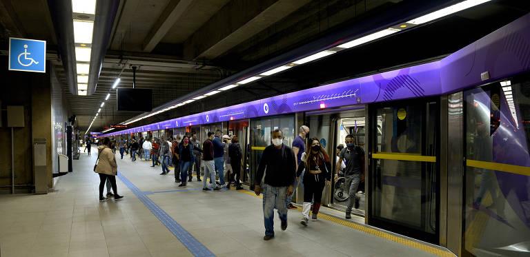 Brasil tem 21 sistemas de trens e metrôs, que operam 1.116 km de trilhos