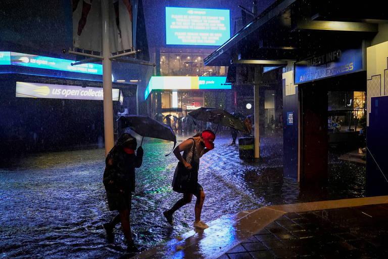 Tempestade tropical Ida avança sobre Nova York e Nova Jersey