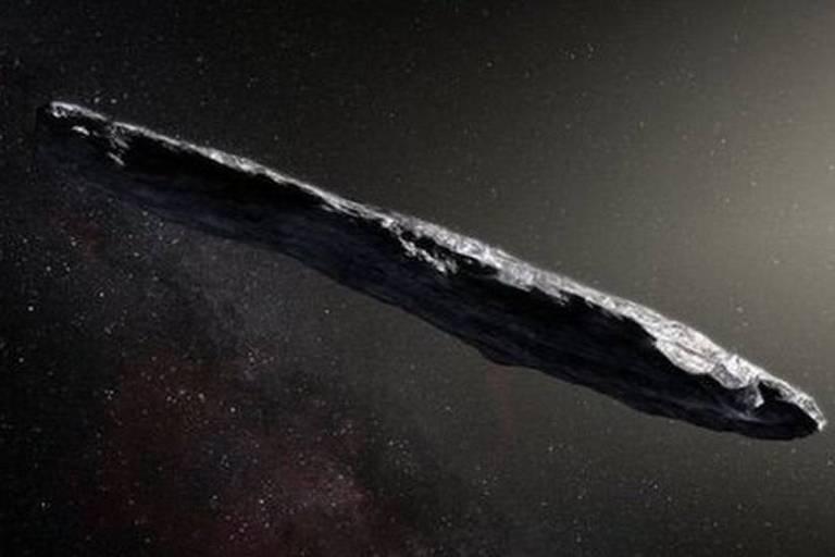 Ilustração mostra corpo celeste no Sistema Solar