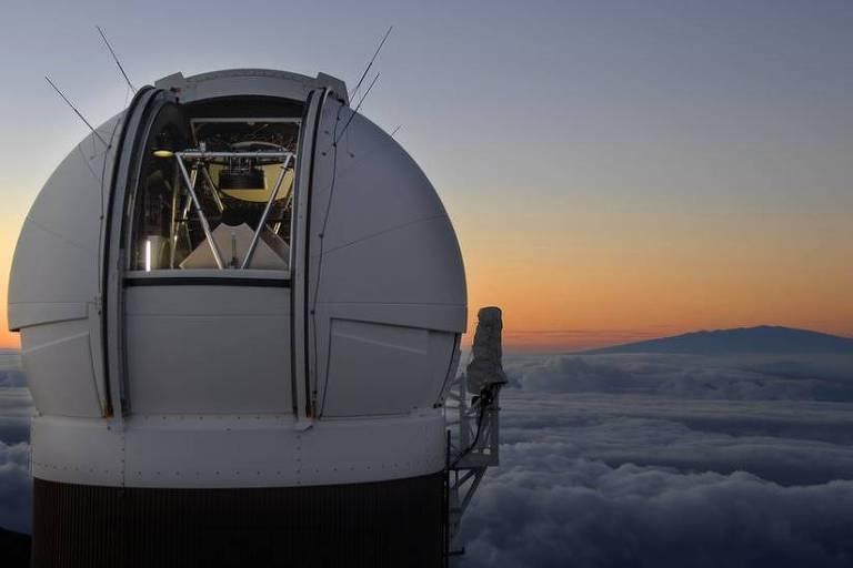Imagem mostra um observatório