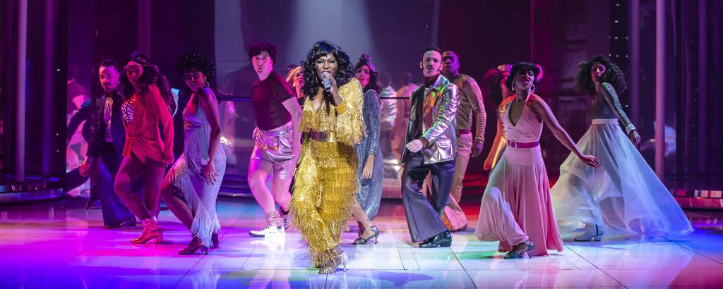 'Donna Summer', que retorna aos palcos de São Paulo após ter sido suspenso na pandemia