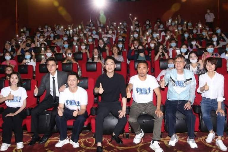 Estreia do filme 'Chinese Doctors', um tributo à fundação do Partido Comunista chinês