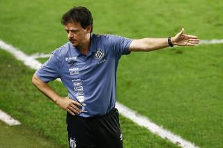 Brasileiro Championship - Santos v Internacional