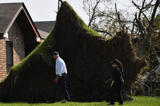 Biden visits, inspects Hurricane Ida damage