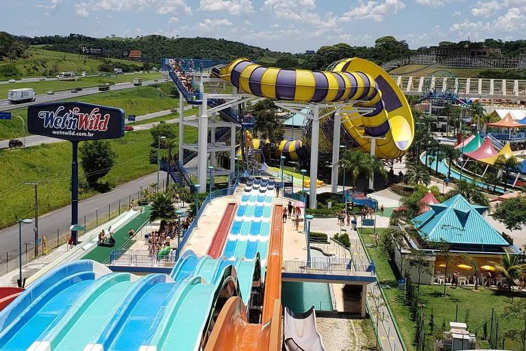 Veja imagens do parque aquático Wet'n Wild