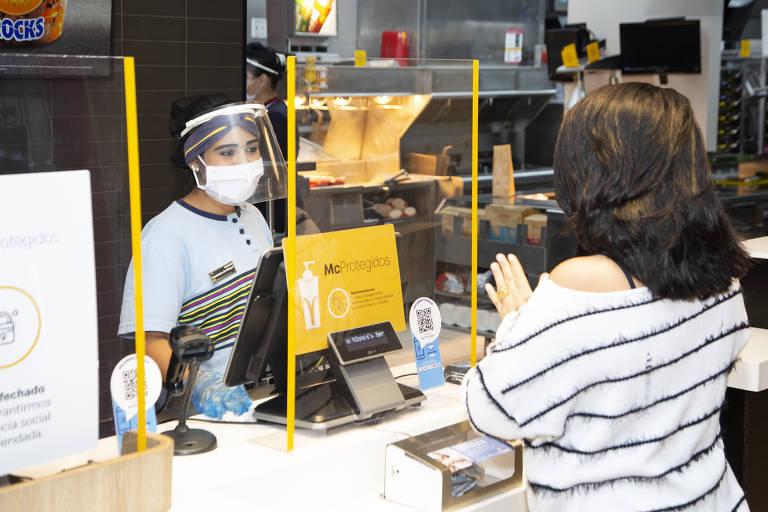Participação de mercado do McDonald's cresce na pandemia