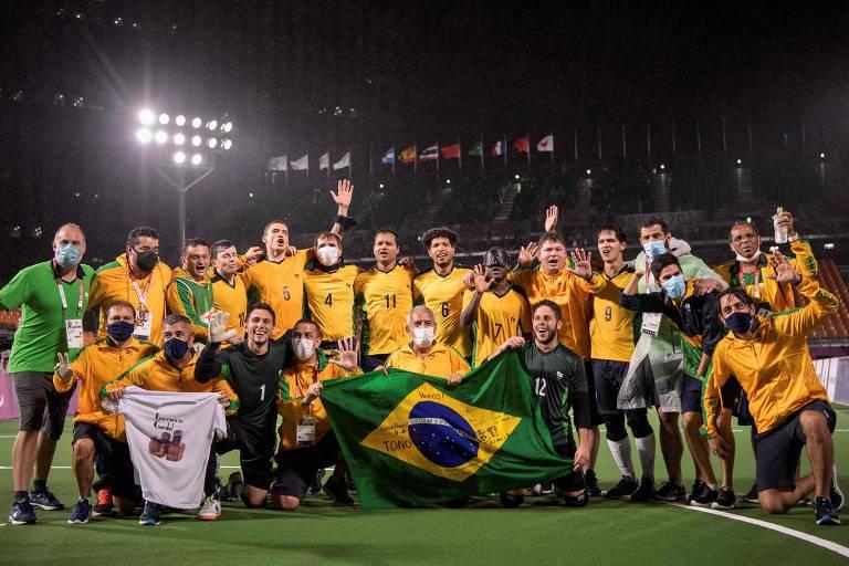 Brasil chega a 22 ouros em dia com mais medalhas nas Paralimpíadas