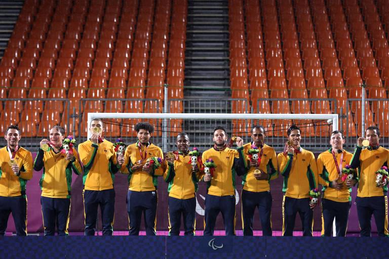 Paralimpíadas: Brasil bate recorde de ouros em uma mesma edição dos Jogos