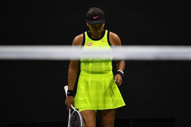 Naomi Osaka é eliminada do US Open e diz que vai dar um tempo na carreira