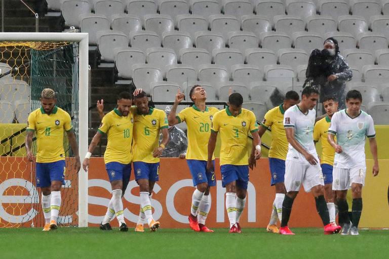 A campanha do Brasil nas Eliminatórias