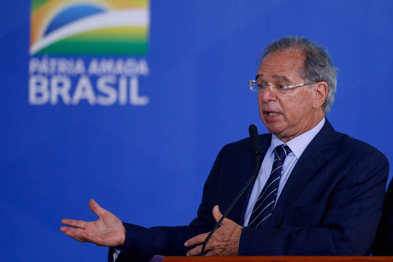 Guedes diz que Bolsonaro pode ter passado do limite em palavras, mas não em ações