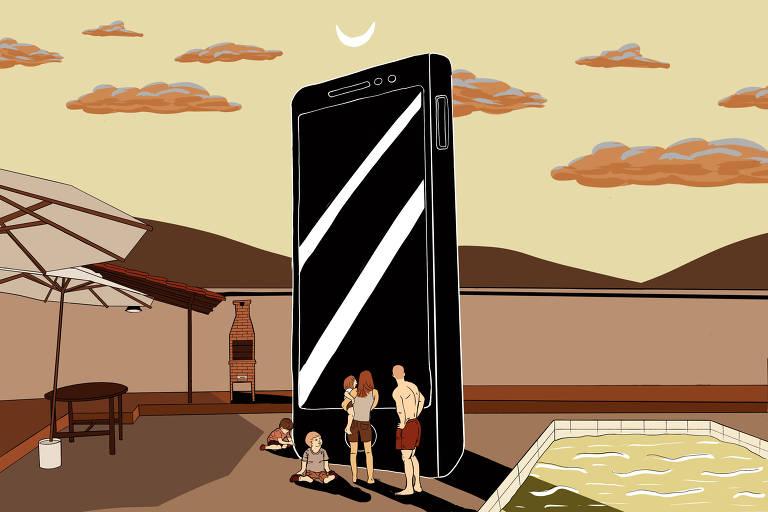 Trabalho domina smartphone e vive 'efeito tiktok', mostra levantamento