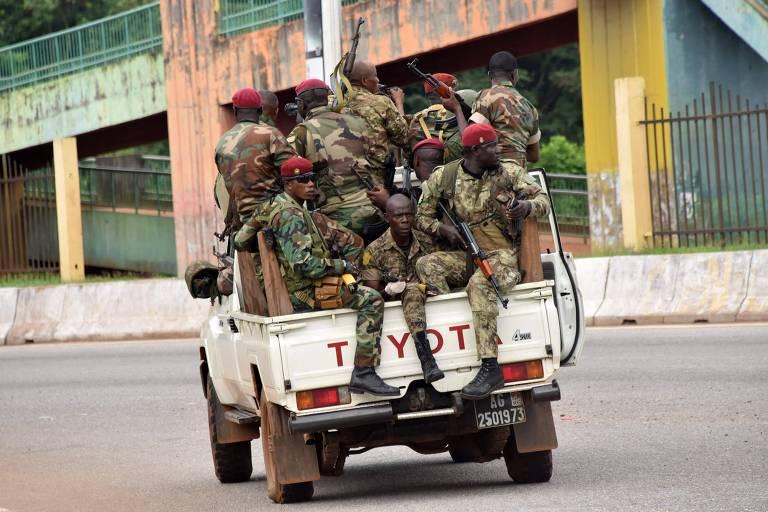 Militares afirmam ter prendido presidente em tentativa de golpe na Guiné