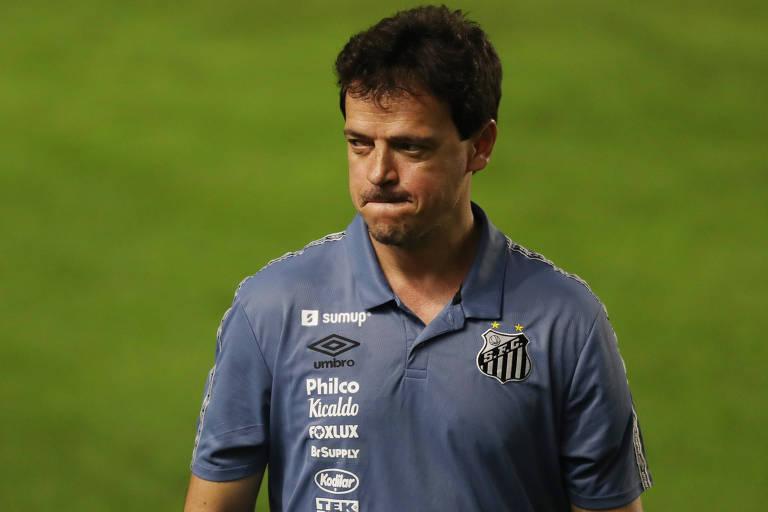 Santos demite Fernando Diniz após um mês sem vencer