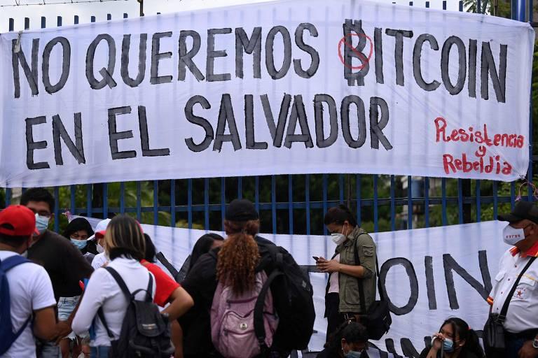 El Salvador torna-se nesta terça primeiro país a ter o bitcoin como moeda oficial