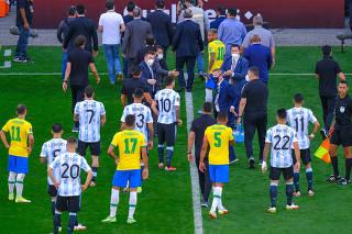 ELIMINATORIAS COPA DO MUNDO 2022, BRASIL X ARGENTINA