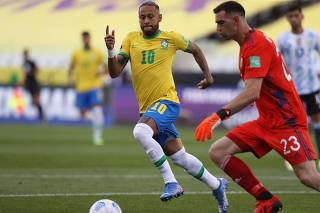 World Cup - South American Qualifiers - Brazil v Argentina