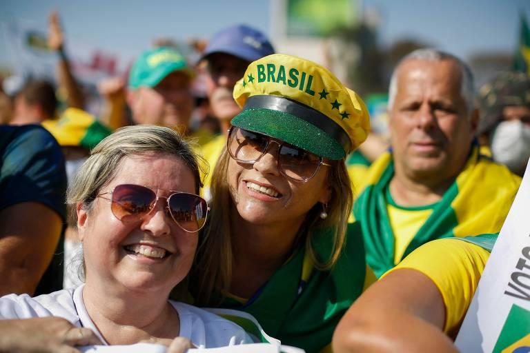 Atos pró-Bolsonaro tem churrasco, cerveja e música sertaneja no 7 de Setembro de 2021