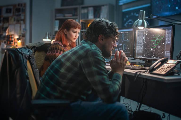 Com Jennifer Lawrence e DiCaprio, filme 'Não Olhe Para Cima' ganha teaser
