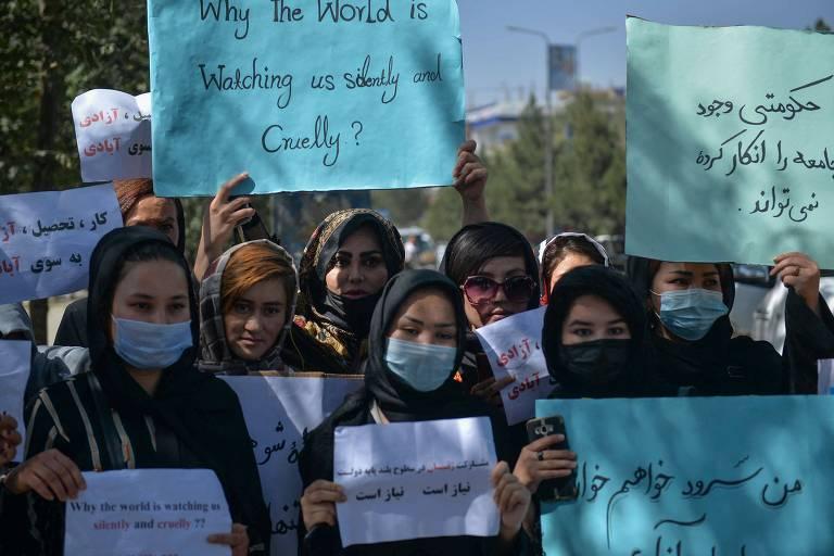 Talibã vai proibir mulheres de praticar esportes no Afeganistão