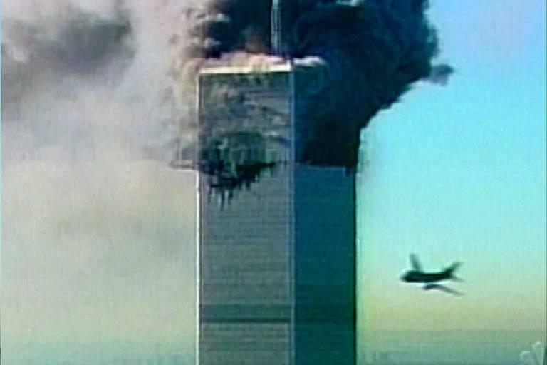 Imagens dos atentados de 11 de Setembro, que deixaram quase 3.000 mortos