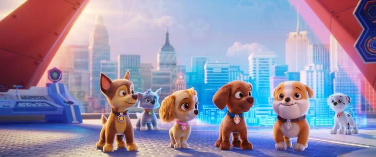 Veja imagens da animação 'Patrulha Canina - O Filme'