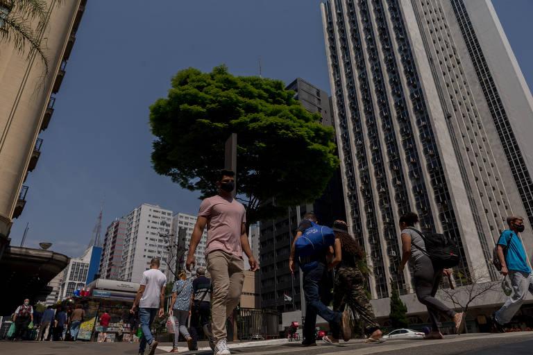 Capital paulista tem o dia mais quente do inverno