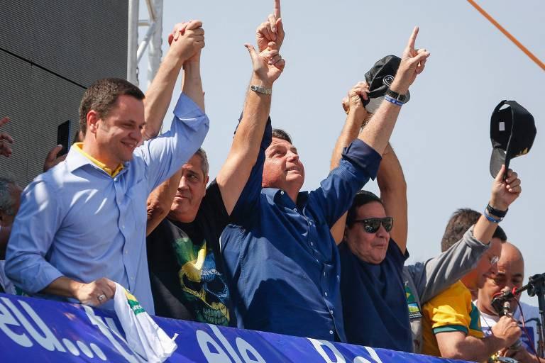 O que Bolsonaro disse antes e durante os atos de 7 de setembro
