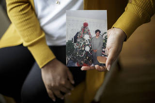 A photograph of Dorothy Morgan, who became the 1,646th World Trade Center victim to be identified through DNA testing, in Westbury, Conn., Aug. 29, 2021. (Anna Watts/The New York Times)
