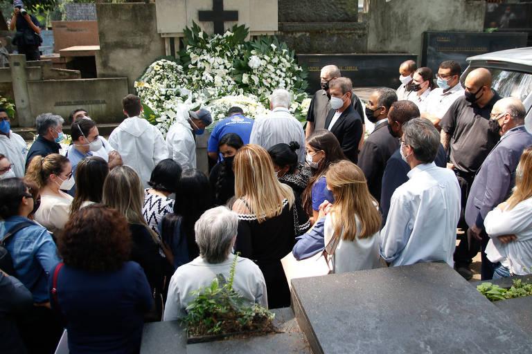 Dudu Braga foi sepultado no cemitério Araçá, em São Paulo