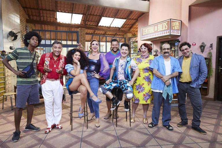 Imagens da série Central de Bicos
