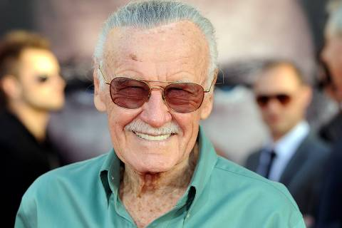 ORG XMIT: GB1665 American comic book writer Stan Lee arrives at the premiere of Thor in Hollywood, California on May 2, 2011. AFP PHOTO / GABRIEL BOUYS
