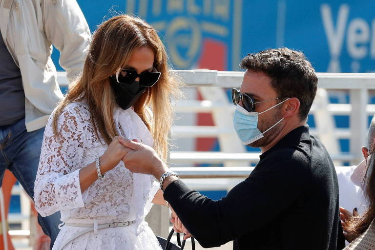 Jennifer Lopez e Ben Affleck no Festival de Veneza