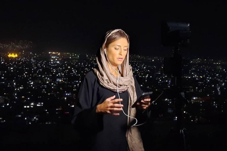 'É a cobertura mais difícil da minha vida', diz jornalista brasileira no Afeganistão