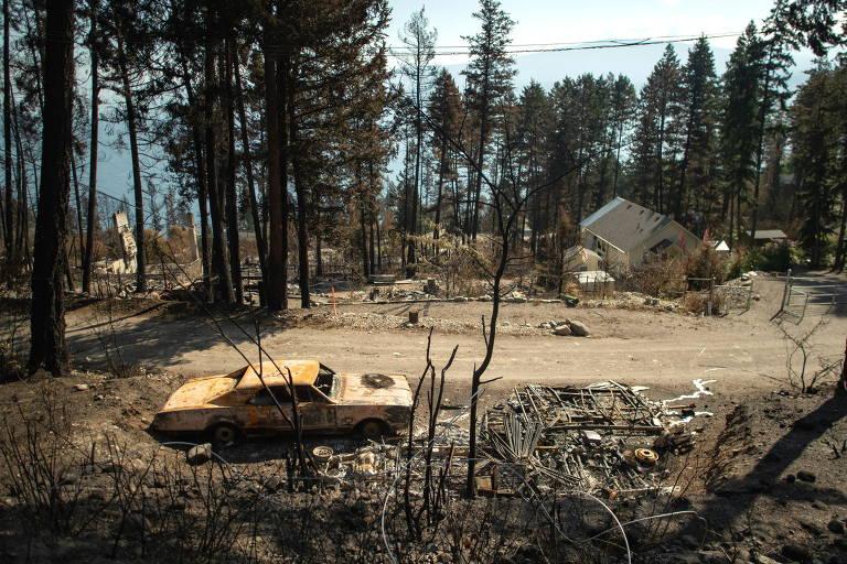 Incêndios florestais alarmam o Canadá