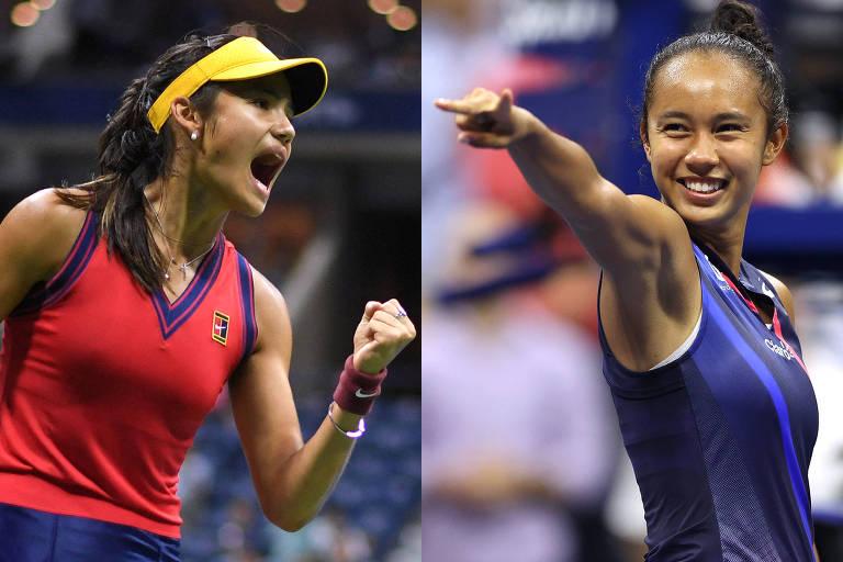 US Open tem final feminina jovem, surpreendente e multicultural