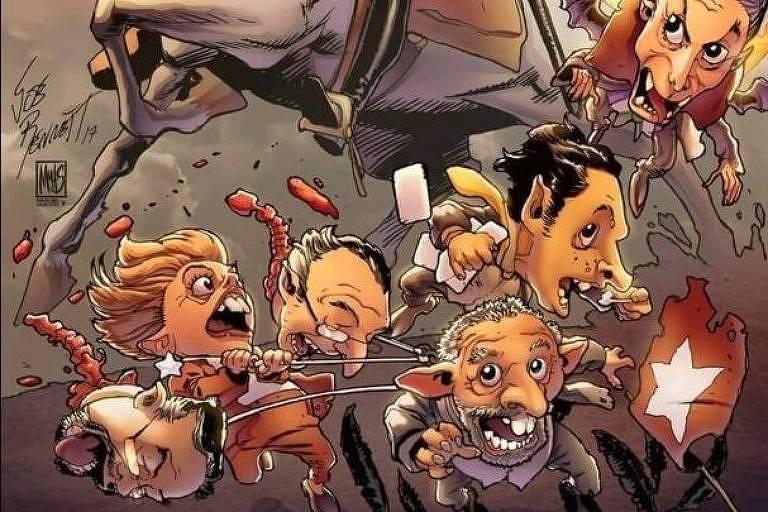 Marvel rompe com ilustrador brasileiro após obra sua pró-Bolsonaro ressurgir