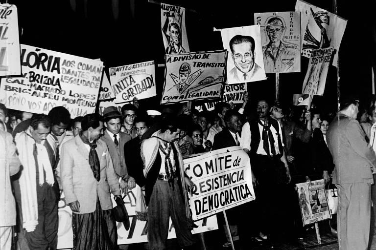 Campanha como a da Legalidade em 1961 seria bem mais difícil hoje, afirma pesquisador